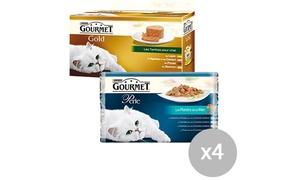 Gourmet Gold: Coupon de 0,60 € sur l'achat de 4 packs 4x85g dans les gammes Gourmet® Perle ou Gold à imprimer valables en supermarché