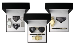 Men's Watch and Accessory Box Set at Men's Watch and Accessory Box Set, plus 9.0% Cash Back from Ebates.