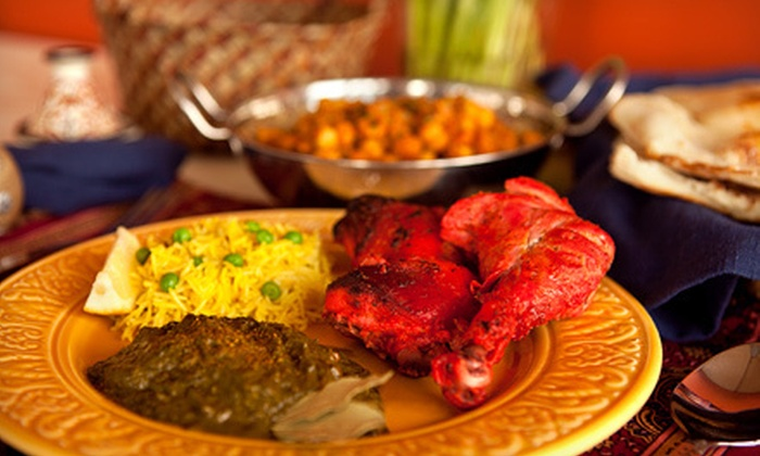 Indian Sizzler - Houston: Indian Food for Two, Four, or Six at Indian Sizzler (Half Off)