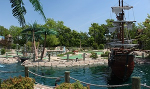 Pirates' Cove: $14 for Four Rounds of Mini Golf at Pirates' Cove (Up to $26 Value)