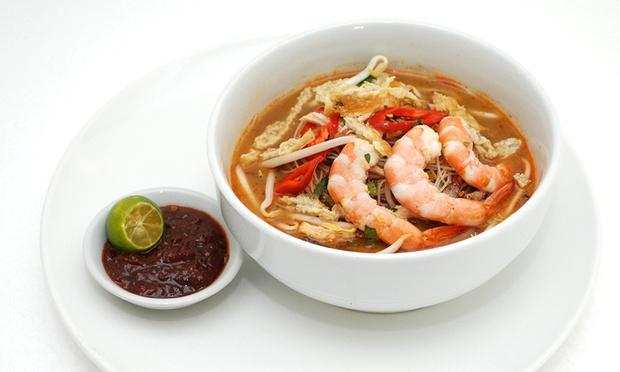 Asian taste restaurant local meal with dessert drinks for X cuisine miri