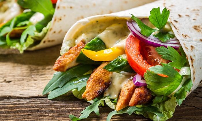 Pita Hub - San Bruno: Two or Four Mediterranean Sandwiches at Pita Hub  (Up to 42% Off)