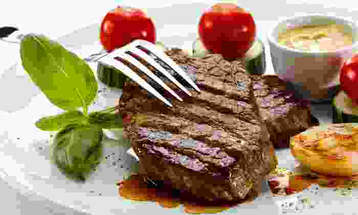 Jamil's Steakhouse - Jamil's: $49.50 for a Steak Meal for Two at Jamil's Steakhouse ($93.88 Value)