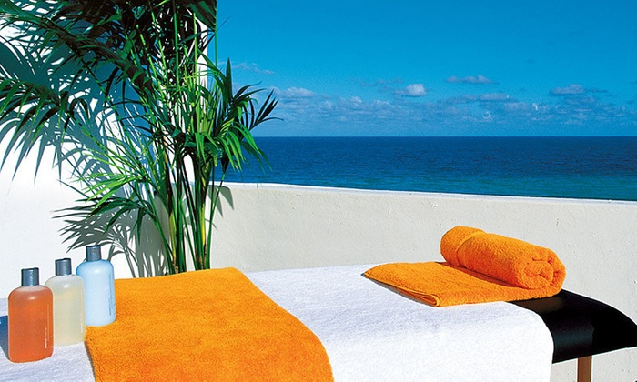 Spa At Shore Club - South Beach: Spa Package with Wine and Pool Pass at Spa At Shore Club (Up to 45% Off)