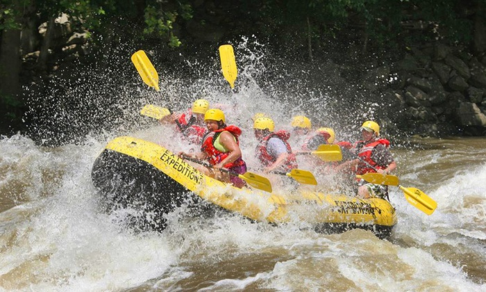 Mars On Gravity - Oak Hill: 2-Night Whitewater Rafting & Camping Experience for 1 or 2 from Mars On Gravity (Up to 51% Off). Two Options.