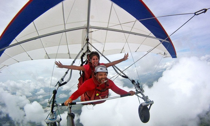 The Florida Ridge Sports Air Park - The Florida Ridge Sports Air Park: $98 for Tandem Discovery Hang-Gliding Flight from Tampa Hang Gliding ($179 Value)