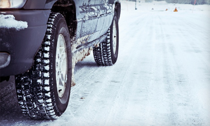 Brake-O-Rama - Multiple Locations: Oil Change with Tire Rotation or Winter Auto-Maintenance Package at Brake-O-Rama (Up to 77% Off)