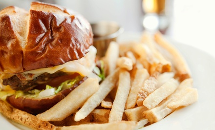 $22 for Two Groupons, Each Good for $20 Worth of Pub Fusion Cuisine at The Barrel
