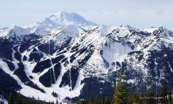 Crystal Mountain Hotels - Crystal Mountain, WA: One- or Four-Night Stay at Crystal Mountain Hotels in Crystal Mountain, WA