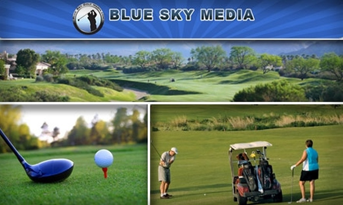 Blue Sky Golf Pass - Dallas: $49 for Two Blue Sky Golf Passes ($198 Value)