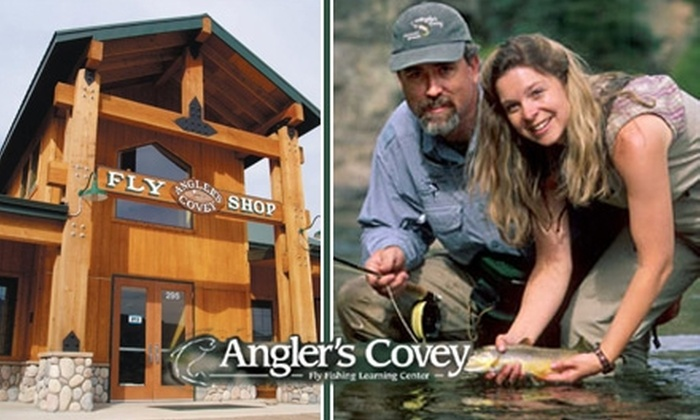 Angler's Covey - Old Colorado City: $10 for $25 Worth of Fly-Fishing Equipment and Outdoor Gear from Angler's Covey