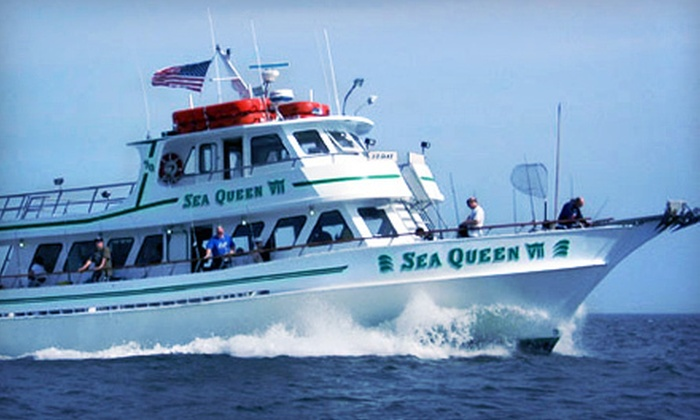 Sea Queen VII - New York: Half-Day Morning or Afternoon Fishing Excursion for Two or Four from Sea Queen VII (Up to 54% Off)