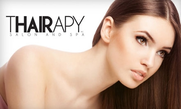 Thairapy Salon and Spa - Belmont Shore: $399 for Cuticle Remy Hair Extensions at Thairapy Salon and Spa (Up to $850 Value)