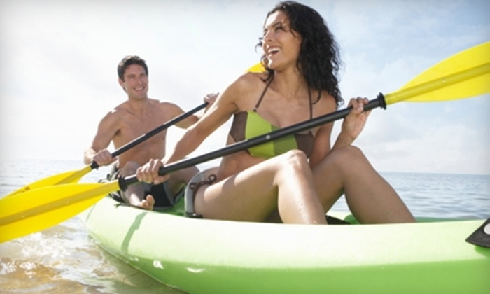 Paradise Kayak Tours - Port Salerno: $49 for a Single Half-Day Kayak Tour for Two from Paradise Kayak Tours in Stuart (Up to $100 Value)
