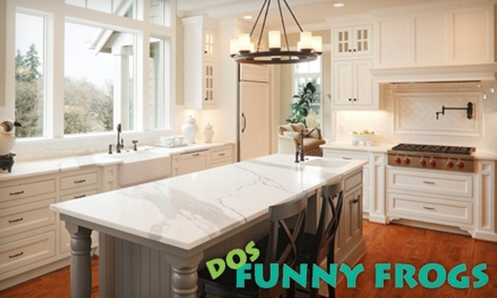 Dos Funny Frogs - Center City East: $59 for Kitchen, Bathroom, and Bedroom Cleaning from Dos Funny Frogs ($120 Value)