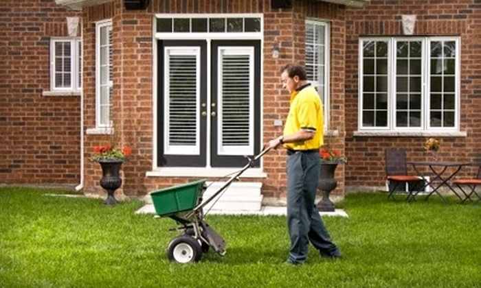 Weed Man - Fox Cities: $25 for Full Lawn-Fertilizing Treatment from Weed Man (Up to $71 Value)