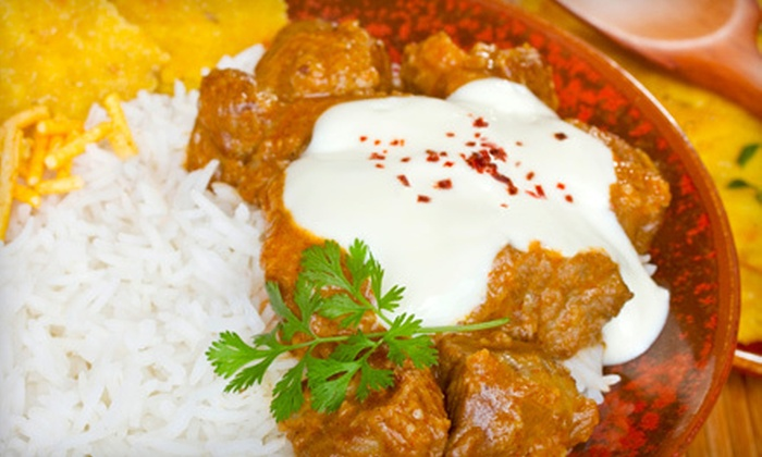 Dales Indian Cuisine - Multiple Locations: Indian Fare for Dinner or Lunch at Dales Indian Cuisine (Half Off)