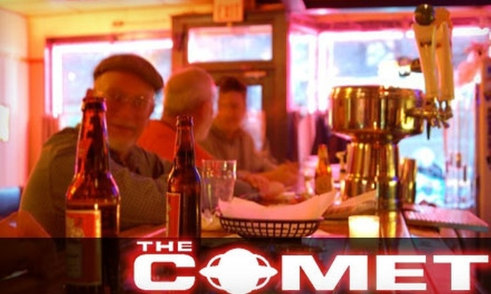 The Comet - Northside: $15 for $30 Worth of Mexican Fare and Drinks at The Comet