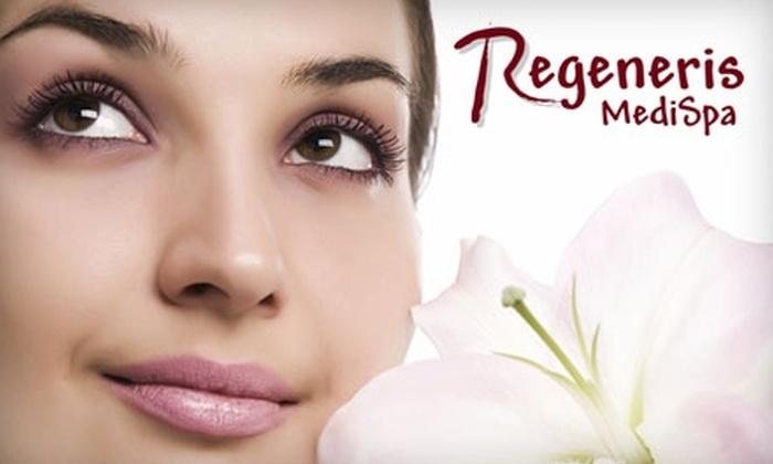 Regeneris MediSpa - Windham Court: $97 for Any Combination of Three Spa Facials ($195 Value)