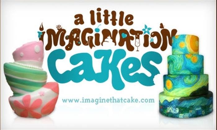 A Little Imagination Cakes - Middletown: $50 for $100 Worth of Custom Cakes and More at A Little Imagination Cakes