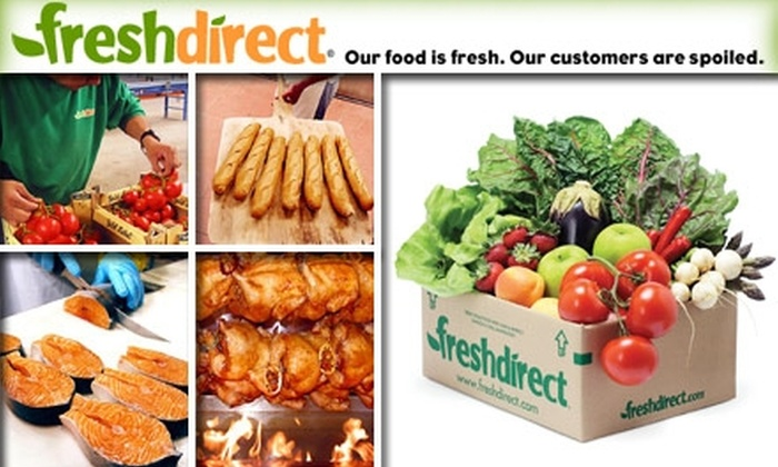 FreshDirect LLC - New York City: $25 for $50 Toward Grocery Delivery from FreshDirect