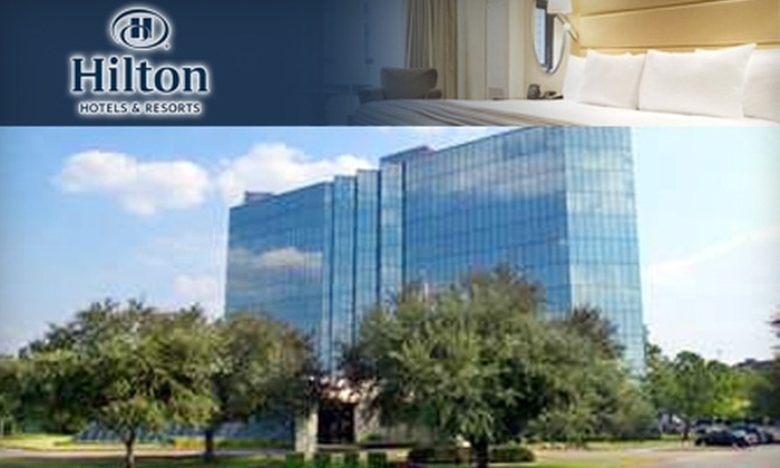 The Hilton Houston Westchase - Westchase: $149 for a Deluxe Suite, $50 Dinner Credit, and Breakfast for Two at Hilton Houston Westchase Hotel ($226 Value)