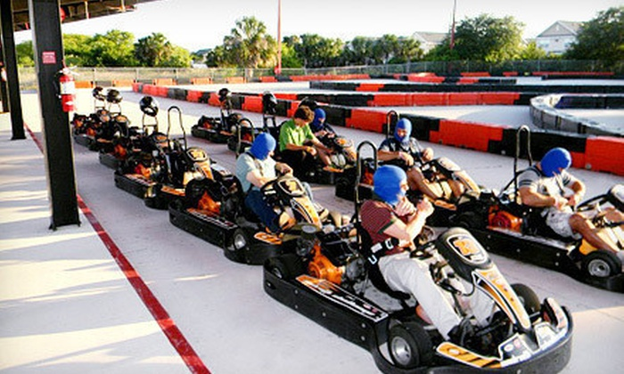 Andretti Thrill Park - Melbourne: $39 for a Fun-Park Visit for Two with Go-Karts, Mini Golf, and Laser Tag at Andretti Thrill Park (Up to $79.24 Value)