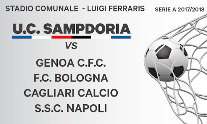 finest selection 79615 bf8ac Calcio Serie A - Partite dell'U.C. Sampdoria della stagione 2018