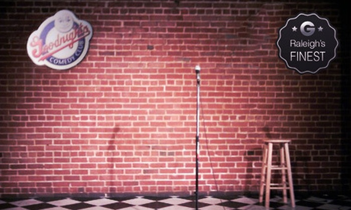 Goodnight's Comedy Club - Goodnight's Comedy Club: Standup Show for Two or Four at Goodnight's Comedy Club (Up to 67% Off)