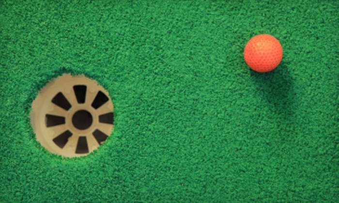 Putter's Pride Mini Golf Courses - Denver: $10 for One Day of Unlimited Mini Golf for Two at Putter's Pride (Up to $20 Value)