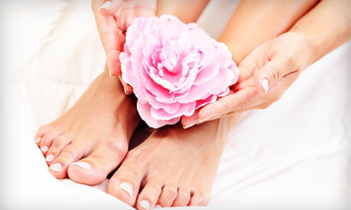Paris Salon & Spa - Woodlake - Briar Meadow: $18 for a Mani-Pedi at Paris Salon & Spa ($37 Value)