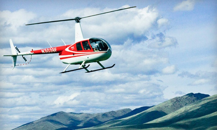 Silverhawk Aviation Academy - Multiple Locations: $115 for a Helicopter Lesson for One or Tour for Three from Silverhawk Aviation Academy in Caldwell (Up to $250 Value)