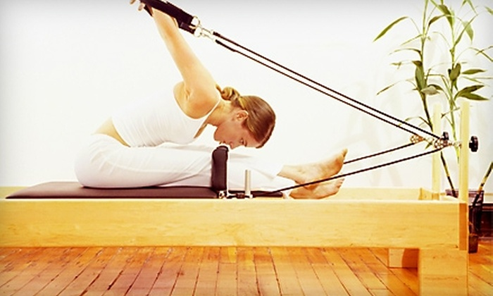 Premier Pilates - Cypress: $50 for Five Pilates Reformer Classes and Three Far-Infrared-Heat Massages at Premier Pilates in Cypress ($274 Value)