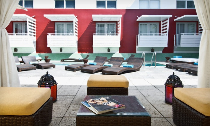 Clinton Hotel & Spa South Beach - Flamingo / Lummus: $134 for a One-Night Stay for Two Sunday–Thursday in a Classic Room at the Clinton Hotel & Spa South Beach in Florida (Up to $224 Value)