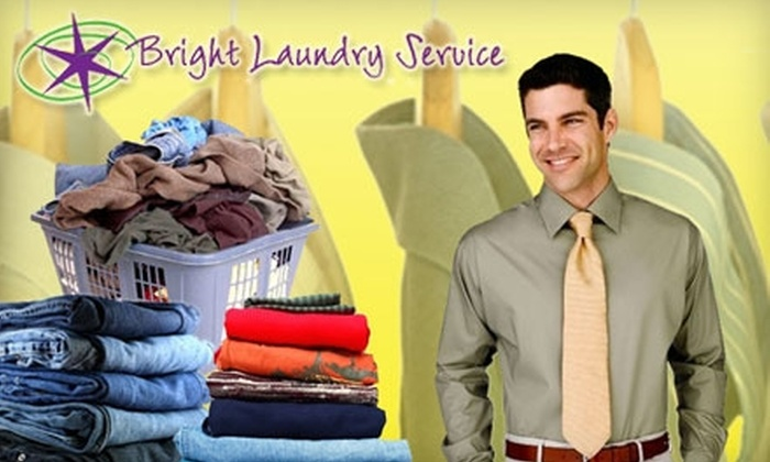Bright Laundry Service - Fresno: $12 for $25 Worth of Delivery Dry Cleaning, Laundry, or Ironing from Bright Laundry Service