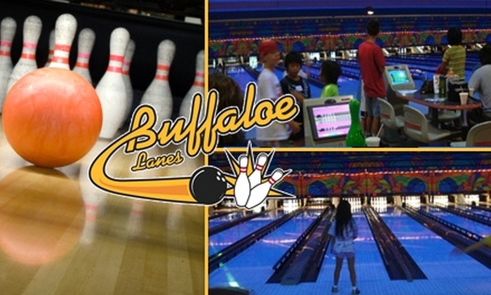 Buffaloe Lanes - Multiple Locations: $11 for Four Games of Bowling and Two Shoe Rentals at Buffaloe Lanes