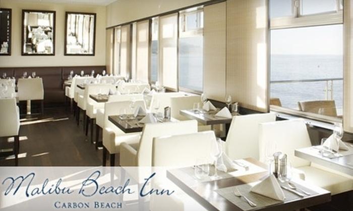 Malibu Beach Inn - Eastern Malibu: $30 for $60 Worth of Coastal Cuisine and Drinks at Malibu Beach Inn