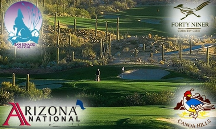 IRI Golf Group - Multiple Locations: $50 for Five Days of Unlimited Driving-Range Balls and Practice Time at Four Tucson-Area Golf and Country Clubs ($100 Value)