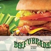 Half Off Bar Fare at Beef 'O' Brady's