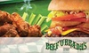 Beef O' Brady's Kanapaha - Gainesville: $10 for $20 Worth of Bar Fare and Drinks at Beef 'O' Brady's