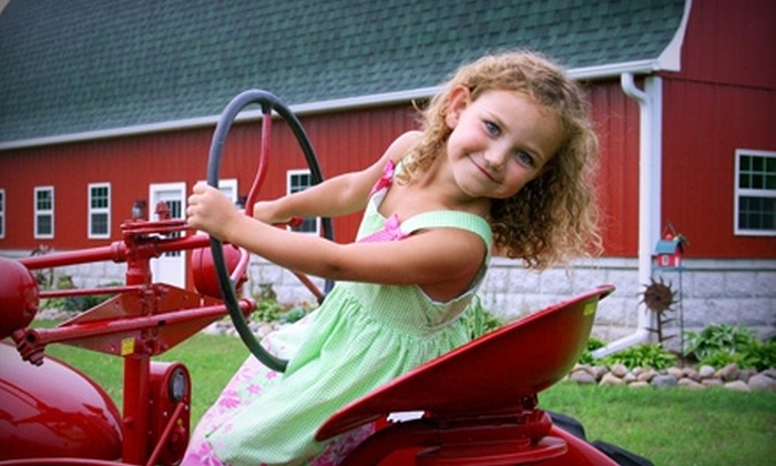 Busy Barns Adventure Farm - Fort Atkinson: $8 for Two Tickets ($16 Value) or $16 for Four Tickets ($32 Value) to the Bunny Bonanza at Busy Barns Adventure Farm