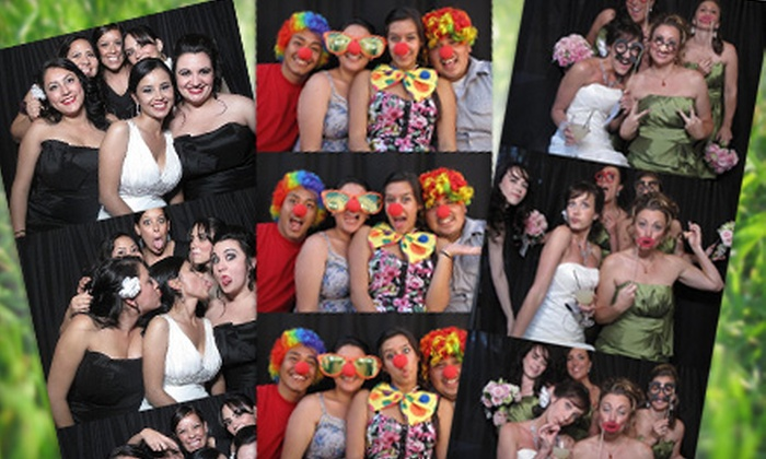 Elegant Photo Booths - Mission Viejo: $495 for a Three-Hour Photo-Booth Rental, Scrapbooking Kit, and Party-Prop Kit from Elegant Photo Booths ($990 Value)