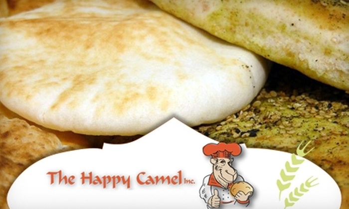The Happy Camel - Callingwood South: $10 for $20 Worth of Mediterranean Fare and Foodstuffs at The Happy Camel