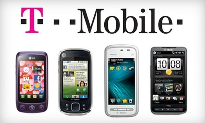 Wireless Champs - Multiple Locations: $25 for $50 Worth of T-Mobile Products at Wireless Champs