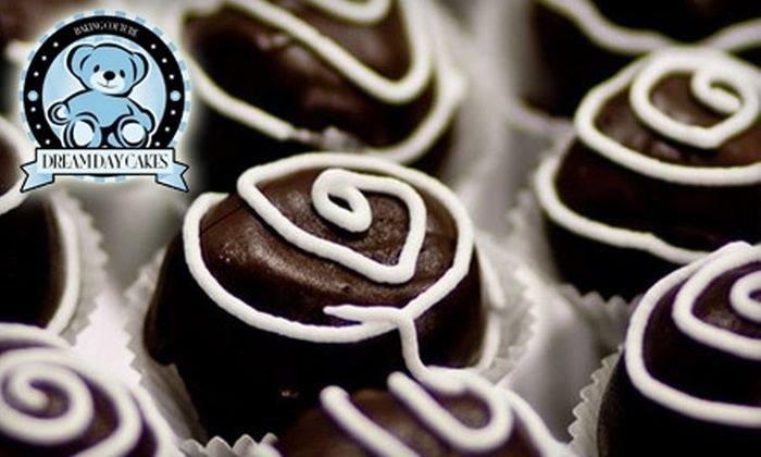 Dream Day Cakes - Gainesville: $15 for a Dozen Cake Truffles from Dream Day Cakes ($30 Value)