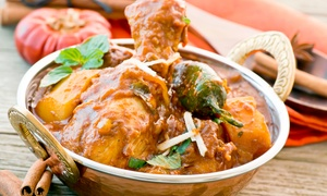 Maharaja Indian Cuisine: Indian Cuisine for Two or More or Carryout at Maharaja Indian Cuisine (Up to 40% Off)