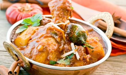 Indian and Bangladeshi Cuisine for Two, Four, or Carry-Out at Curry & Sweets Indian Restaurant (Up to 49% Off)