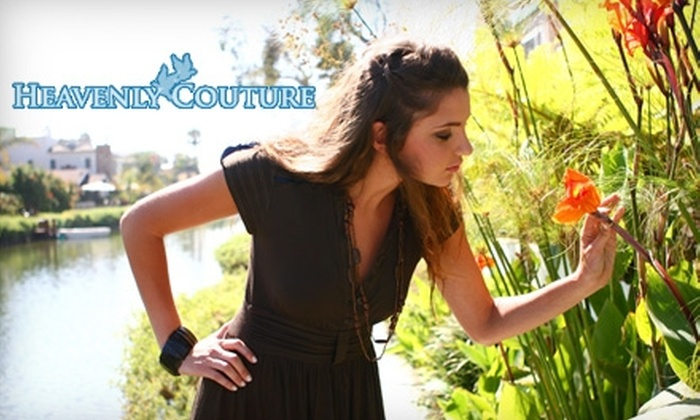 Heavenly Couture - Multiple Locations: $10 for $20 Worth of Juniors' and Women's Apparel at Heavenly Couture