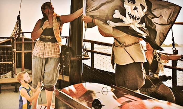 Dark Star Pirate Cruises - Wildwood Crest: One-Hour Pirate Cruise for Two or Four from Dark Star Pirate Cruises in Wildwood Crest (Up to 52% Off)