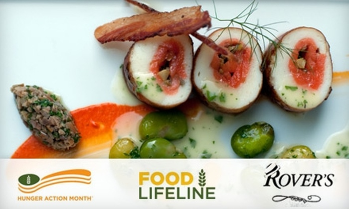 Rover's - Stevens: $30 Four-Course Prix Fixe Dinner at Rover's ($59 Value)